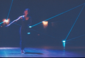 """Laser Dance"", performed by MWDCC in 1985. Photo by Rockne Krebs."